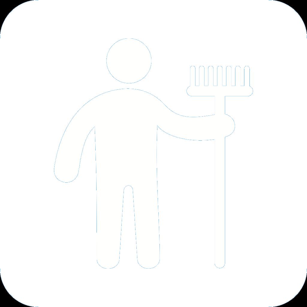 Die Hausfeen Icon Gartenarbeit